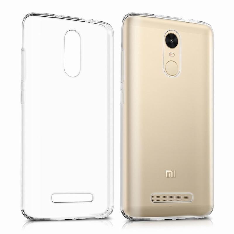 Hongmi Xiaomi Redmi Note 3 Pro note3 Case 0.3mm Clear Soft TPU Cover Silicone transparent funda Mobile Phone Accessories