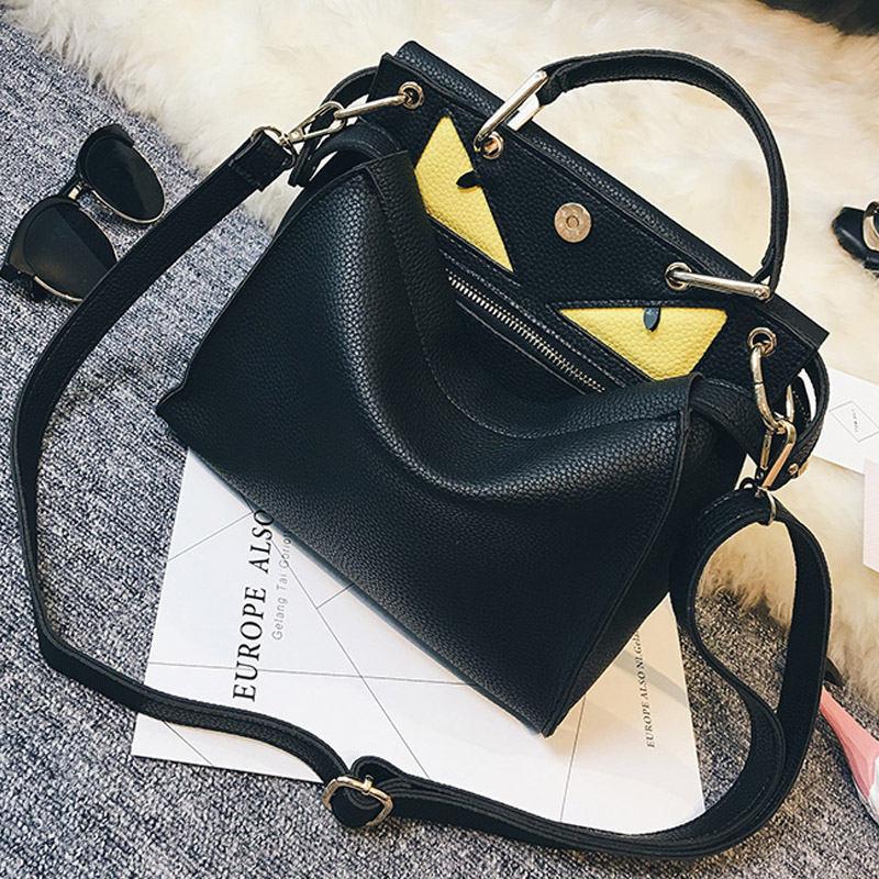 women business office tote bags designer handbags high quality fashion monster bag ladies top-handle crossbody bag shoulder sac(China (Mainland))