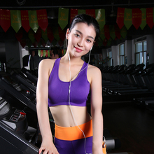 Professional Breathable Shaped sports bras Shockproof quick-drying underwear vest women running yogaYOGA GYM fitness exercise