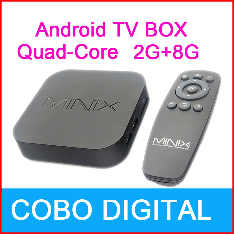 New Android 4.2.2 Tv Box Media Player Quad-Core Mini PC Smart Tv Box With The Remote Control(China (Mainland))