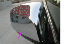 Buy Subaru XV Hatchback 2015 2014 2013 2012 Chrome side door mirror Cover mirrors Trim 2pcs glossy for $40.99 in AliExpress store