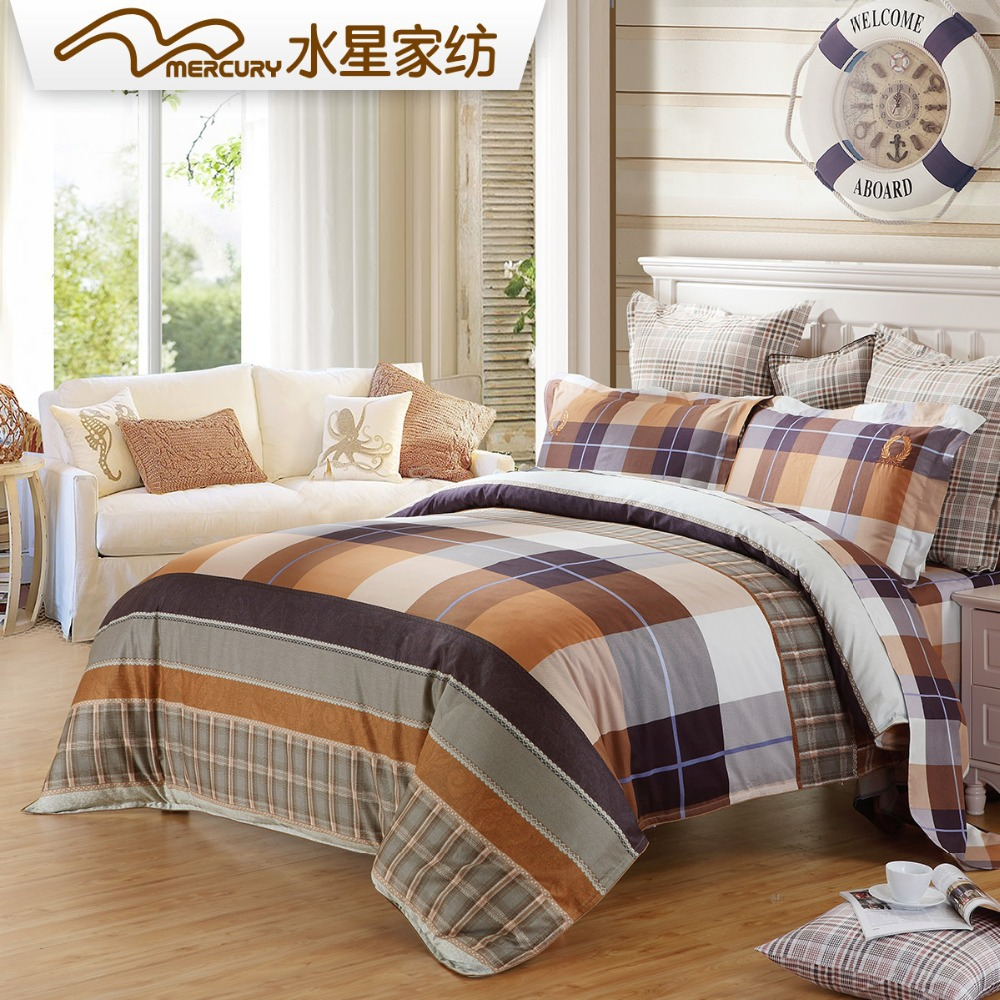 vichy housse de couette promotion achetez des vichy housse de couette promotionnels sur. Black Bedroom Furniture Sets. Home Design Ideas