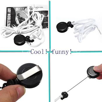 Modern Design Self Tying Shoelace Street Magic Trick Prop with Explanation Close Up Effect Elec-Mall Fully-automatic