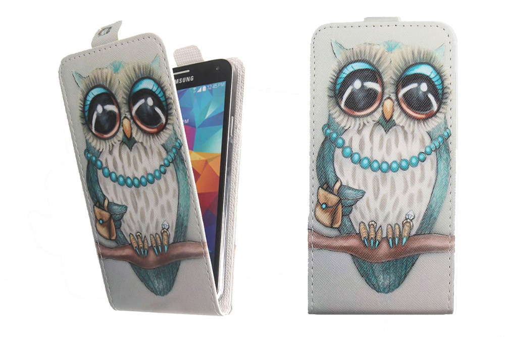 Top selling 11 colors cartoon pattern up and down flip pu leather top selling 11 colors cartoon pattern up and down flip pu leather case for zte hawkeye us711 fandeluxe