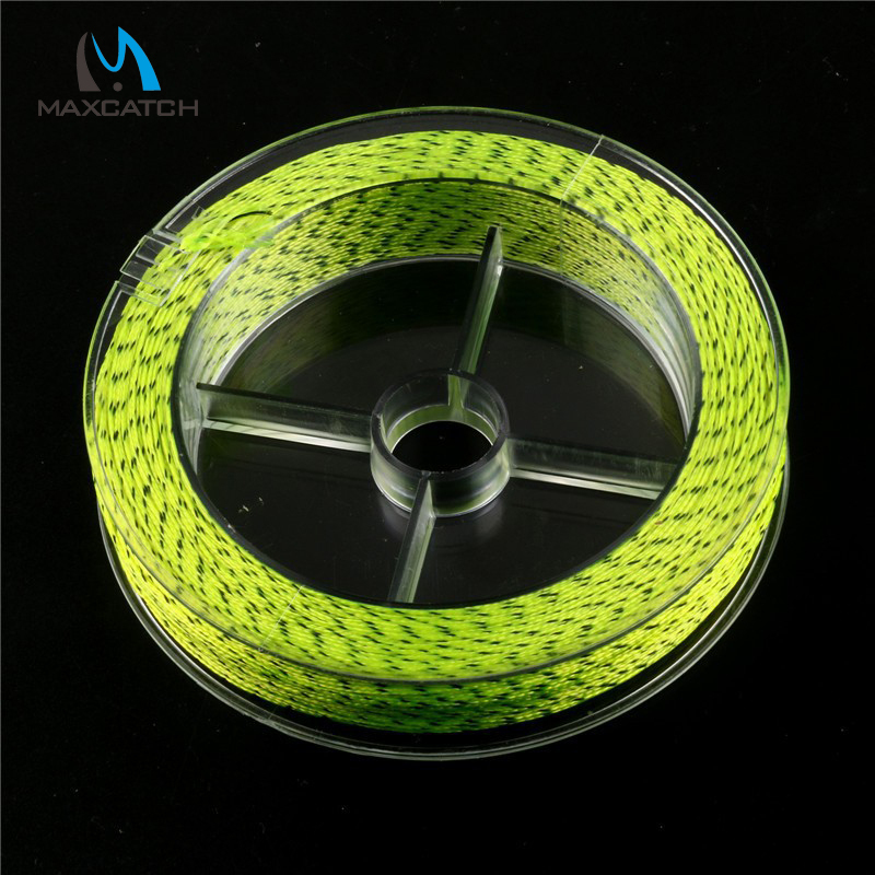 Double color backing fly line 100yards 30lb fly fishing for Fly fishing backing