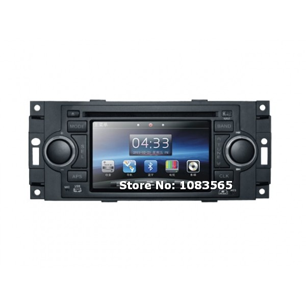 For JEEP Patriot 2006 - 2009 In Dash Navigation Car DVD Player With Radio Bluetooth TV WINCE 6.0 System(China (Mainland))
