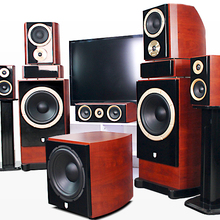 69 5.1 home theater speaker package Bluetooth stereo amplifier fever Wooden(China (Mainland))