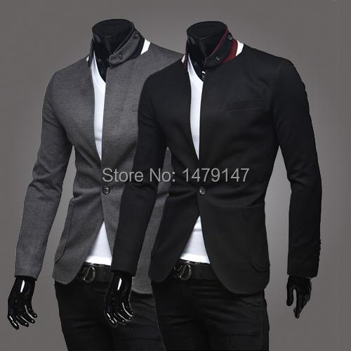 2015 fashion brand latest male casual blazer men suit terno jaquetas e casacos masculino jacket slim fit chaquetas hombre X27(China (Mainland))