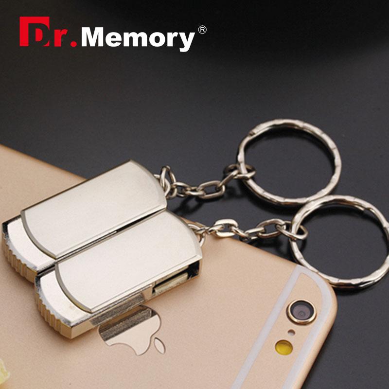 Dr.memory USB 2.0 Metal USB flash drive with bracelet 4G flash drive 8G memory stick 16G flash card pen drive 32G mini USB(China (Mainland))