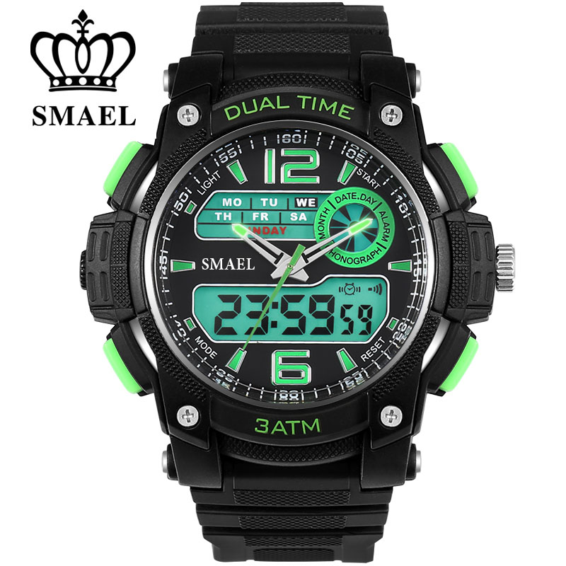 Led Watch Sports Men Military Army Quartz Men Watches with Box Perfect Gift for Boy Friend Automatic S Shock Watches WS1326(China (Mainland))