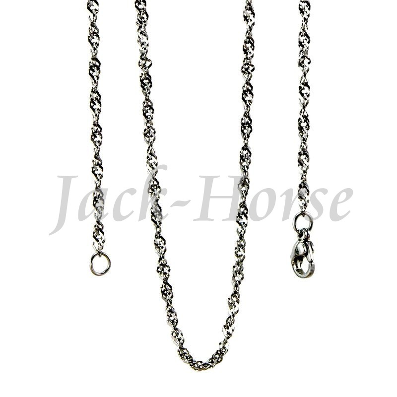 Free shipping High quality 60cm fashion Stainless steel pendant necklace(China (Mainland))