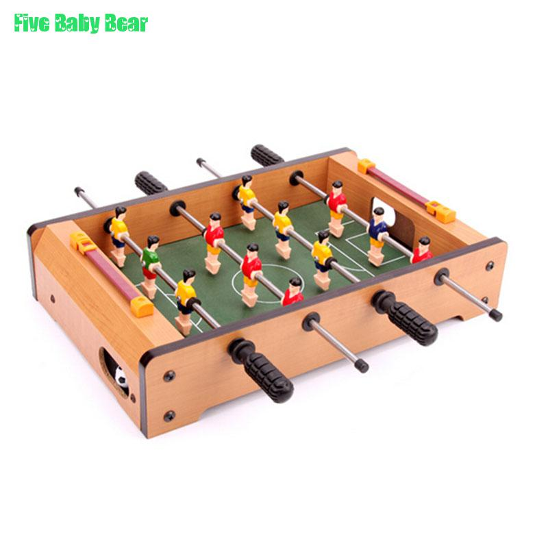 Brinquedo Table Football Kids Toy Children's Mini Foosball Table Football Machines Bar Desktop Toys Games Boys' Gift Wooden Toys(China (Mainland))