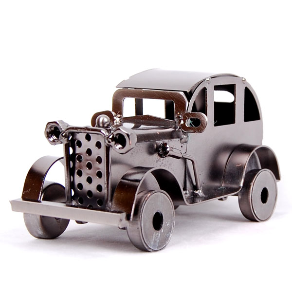 Vintage classic cars Fashion metal car model home decoration antique gift(China (Mainland))