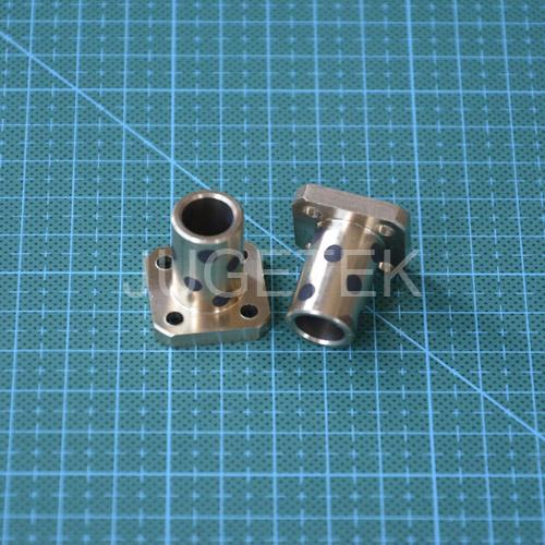 K10UU Brass Bushing 10mm flanged selfgraphite linear bearing 10pcs/lot(China (Mainland))