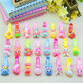 10 pcs lot Girls Hair Accessories Bow Hair Clip Kawaii Baby Hairpin Rabbit Hair Clip Flower