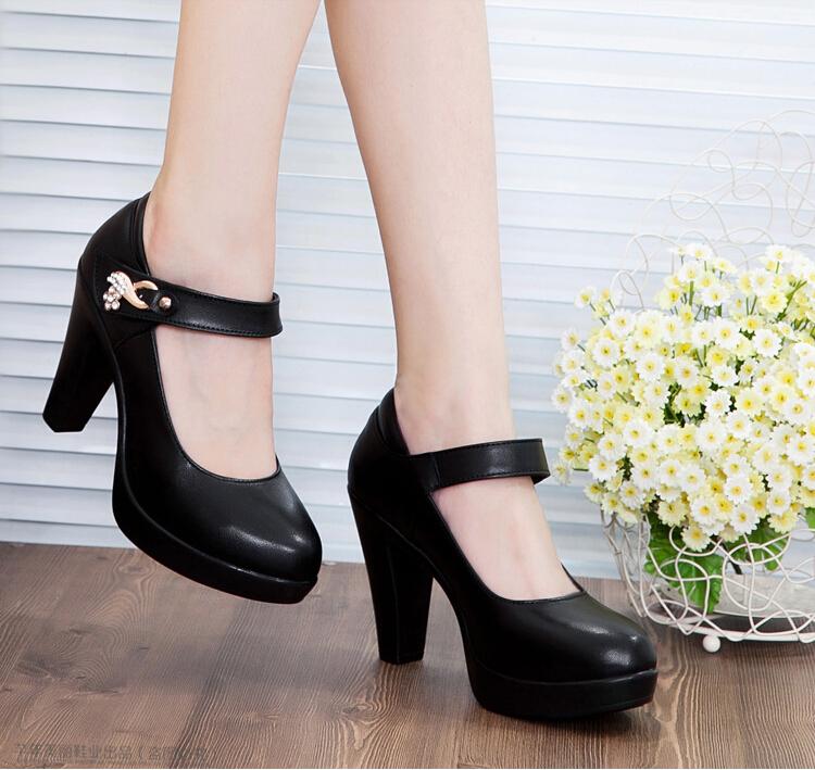 2014 high heels pumps ol comfortable genuine