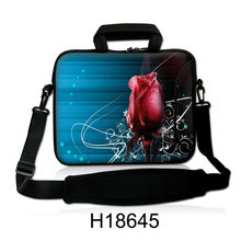 """Buy 10""""13""""14""""15""""17"""" Beautiful Rose Design Laptop Shoulder Bag Sleeve Handle Pouch Notebook Case Cover Dell Acer Thinkpad Lenovo for $19.99 in AliExpress store"""