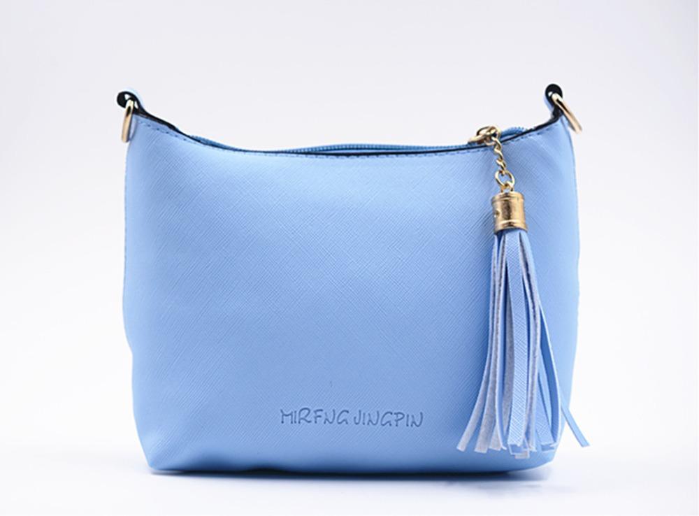 Pochette Soirée Fleurie : Fashion blue fringe women evening clutch shoulder bag