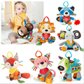 Baby toys 3-12 months Manhattan Winkel Rattle and Sensory Teether Activity Rings Baby Feeder Silicone Teething Toys