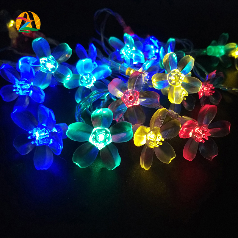 3M 30LED Cherry LED Battery Source String Lights for Wedding Holiday and Events Decoraccion Luz Guirlande Lumineuse Flor Cerezo(China (Mainland))
