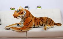 High quality  Large Simulation Tiger Doll  Plush Toys Tuba  Creative   Gift  One piece 60cm(China (Mainland))