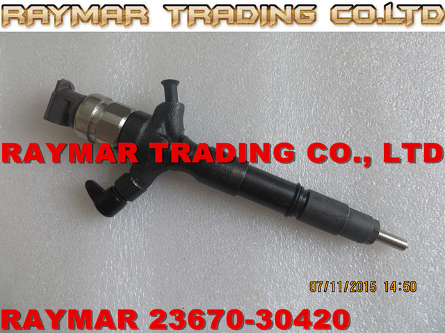 DENSO Common rail injector 295050-0620, 295050-0800 for TOYOTA 23670-30420, 23670-39425