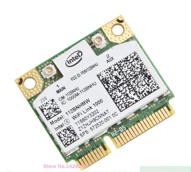 New original For Intel WiFi Link 1000 112BNHMW Half Mini PCI-E 802.11b/g/n wireless card for IBM T410 SL410 X201i 60Y3203(China (Mainland))