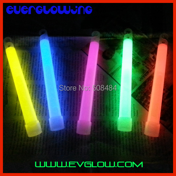 2 bag packing mixed color 6 inches Chemical Glow Stick light stick glowing neon Party - Yiwu Everglowing Toys Factory store