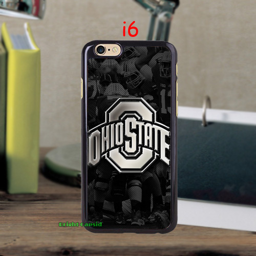 New Arrival Ohio State Buckeyes PC Durable Case for iPhone 5c 5s 5 4s 4 and i6 i6 plus Protective Hard Cell Phone Back Cover(China (Mainland))