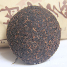 100g chinese ripe pu er tea yunnan puer tea shu tuo cha ansestor antique dull red