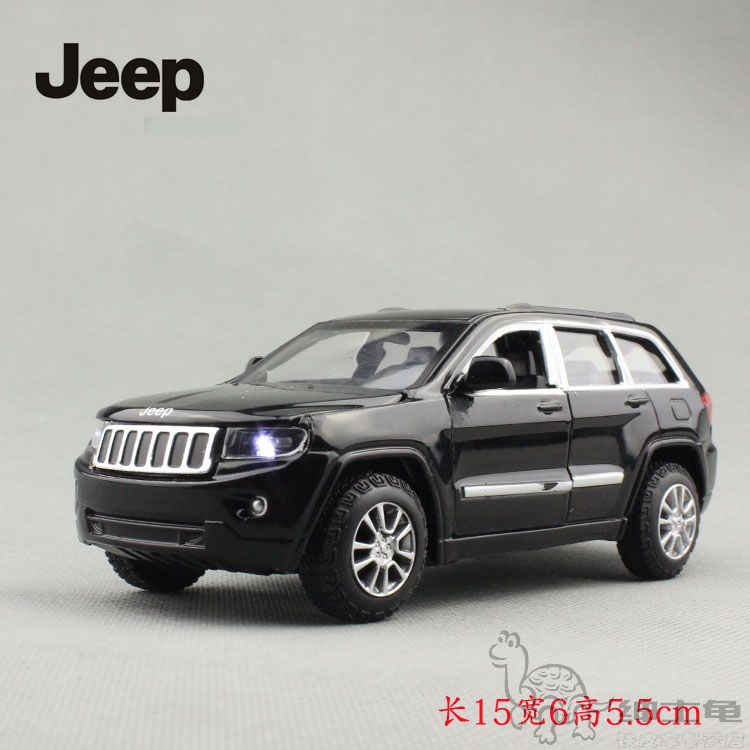 The new 1: 32jeep Grand Cherokee Jeep Compass alloy car model sound and light back four open TOYS(China (Mainland))
