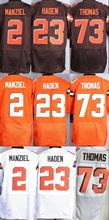 2015 New Style #2 Johnny Manziel Jersey #23 Joe Haden #73 Joe Thomas Elite Stitched ,American Football Jersey