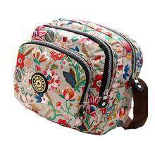 Korean Fashion Women Shoulder Bag Waterproof Nylon Handbag High Quality Women Messenger Bags Kiple Style Carteras Multilayer Bag