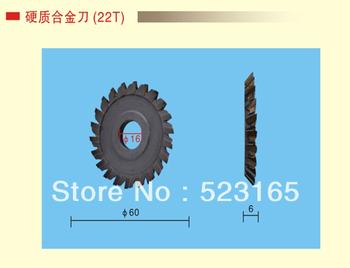 60*6*16  22T hard alloy Key Cutter Blade For Key Cutting Machines Locksmith Supplies car key cutting machine key machine cutting