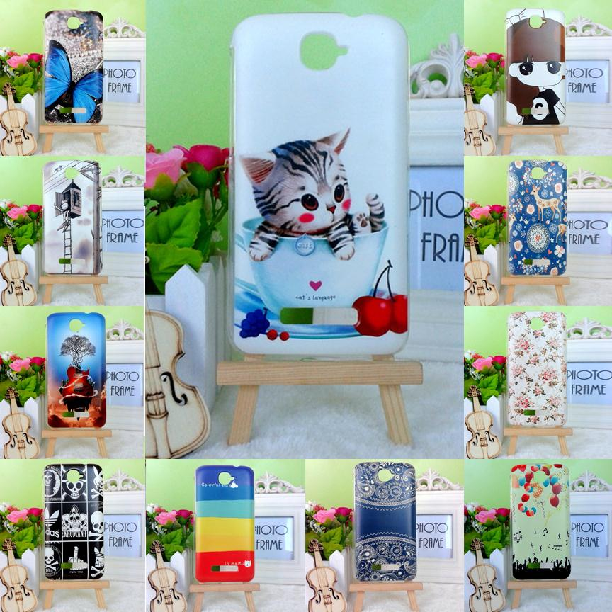 2015 22 Styles New Alcatel One Touch Pop C7 7041 7041D OT7041 Case Cover Butterfly Flower Girl Skull Painting Hard Case(China (Mainland))