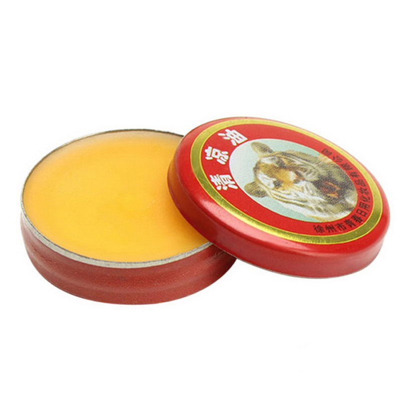 10pcs Chinese Tiger Balm Red Refresh Oneself Treatment Of Influenza Cold Headache Dizziness Muscle Massager Relax Essential Oil(China (Mainland))