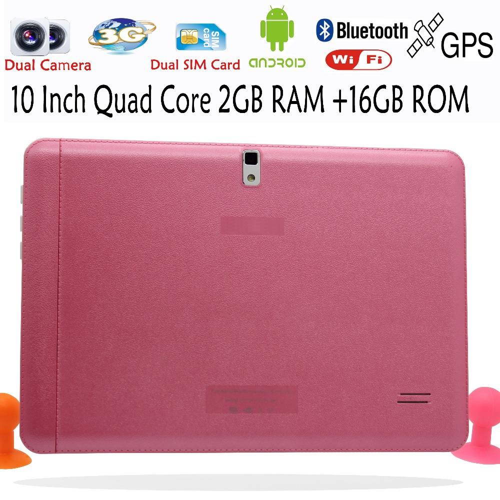 Original Quad Core 10 Inch 3G Phone Call Android Tablet pc Android 4 4 2GB RAM