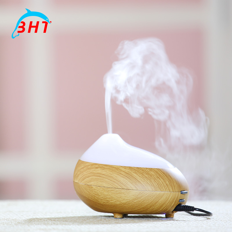 100ml 7 Colors Light Ultrasonic Air Humidifier Electric Aromatherapy Essential Oil Aroma Diffuser Air Purifier For Home Use(China (Mainland))