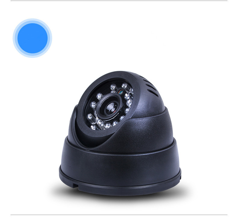 CCTV DVR Recorder Night Vision Dome Camera with Motion Detection CCTV DVR Loop Recorder Security Camera USB Support 32GB TF Card
