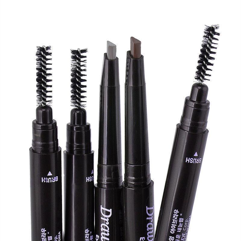 Waterproof  Eye Brow Eyeliner Eyebrow Pen Pencil With Brush Makeup Cosmetic Tool 5 Colors