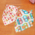 Baby Bibs Lunch Bibs Boys Girls Infants Cartoon Pattern Bibs Burp Cloths For Children