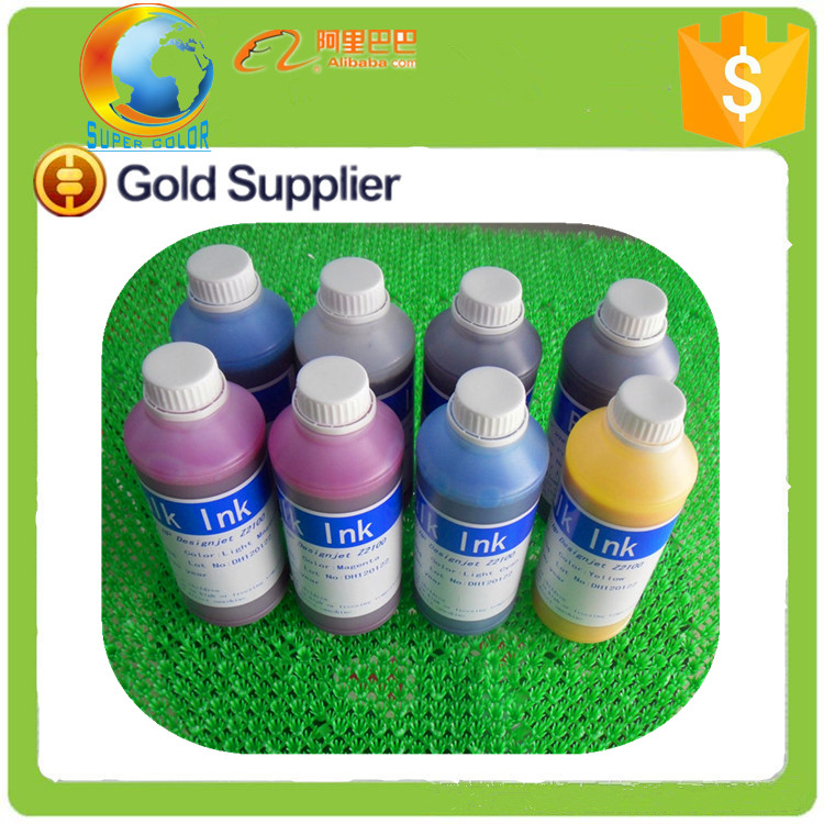supercolor 8 liters/lot top quality Genuine Ink For HP Z6100 Z6200 Printer Pigment Ink(China (Mainland))