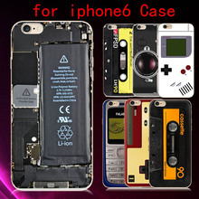 2016 Promotion New Novelty Personalized Custom Pattern Fake Camera Board Game Case Cover For Iphone 6s 4.7 Inch Phone Bag Back