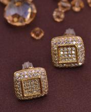 LSE841 Zircon jewelry earring men screw back earrings Christmas gift, free shipping(China (Mainland))