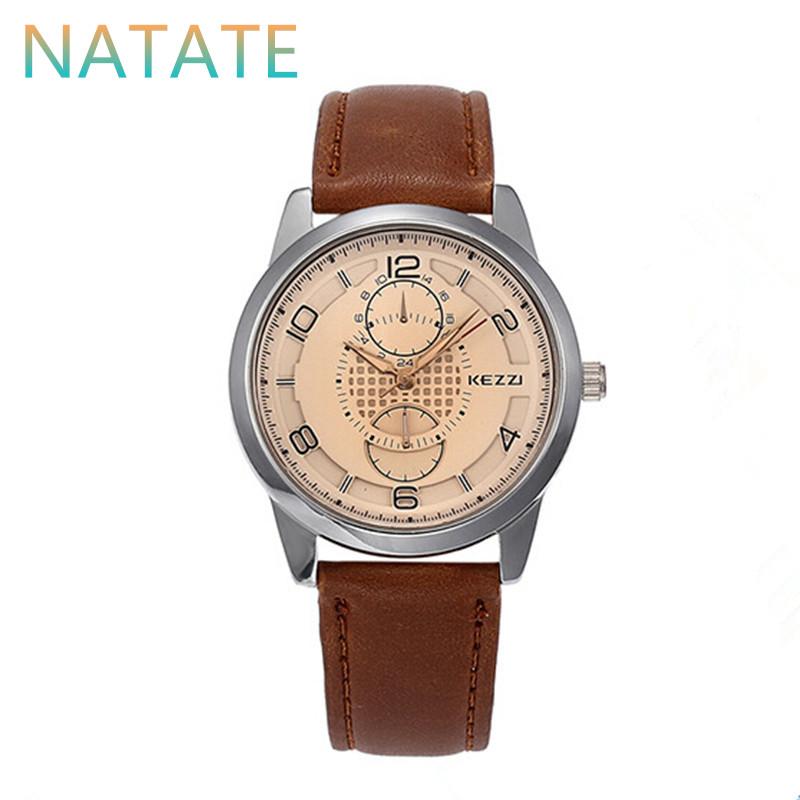 NATATE Women Designer Watch Kezzi Luxury Brand Diamond Business Wristwatches waterproof Leather Strap Ladies Quartz Watches 1040<br><br>Aliexpress