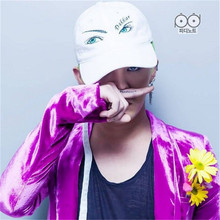 Buy Kpop FASHION bigbang 8 gd GDRAGON new fashion peaceminusone pmo EYES COTTON Snapback Baseball Cap HIP HOP UNISEX for $7.99 in AliExpress store