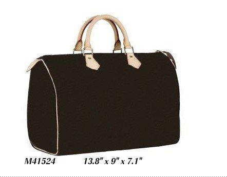 Chic Monogram Canvas M41524 SPEEDY 35 shoulder tote bags Designer Handbags