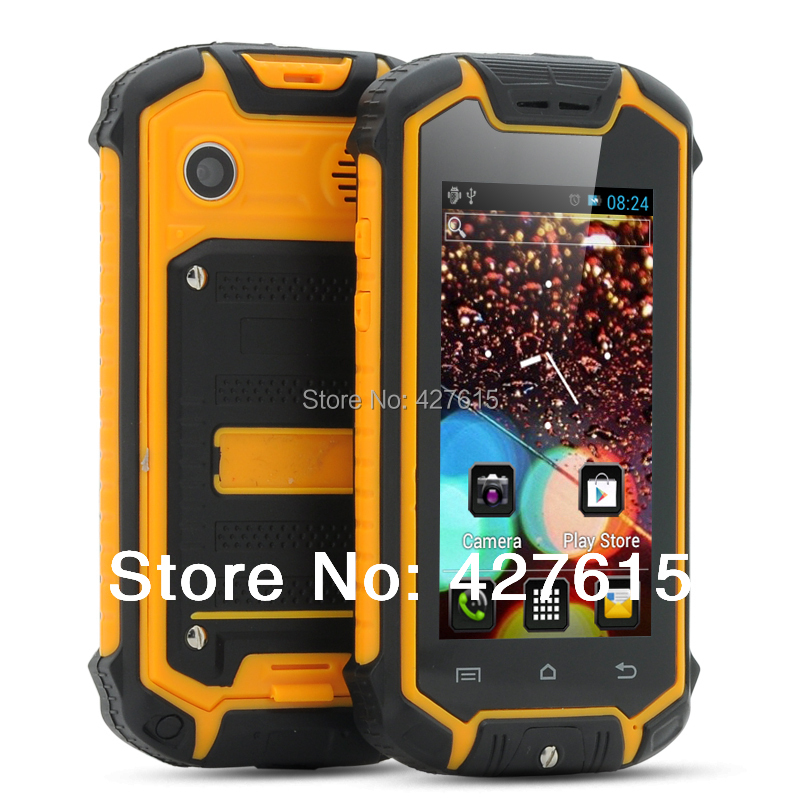 small phone Z18 smartphone MTK6575 Dual Sim Outdoor Shockproof Dustproof rugged tel mobile Android Mini telePhone(China (Mainland))