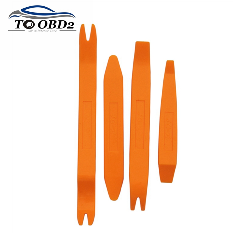 4pcs/Set Auto Car Radio Tool Removal Installer Pry Repair Tool Portable Practical Door Clip Panel Pry Tool Free Shipping(China (Mainland))