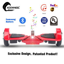 KOOWHEEL Safe Hoverboard UL2272 Certificate Christmas Gift Bluetooth Hover Board Easy Take Hoverboard USA Shipping(China (Mainland))
